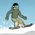 Downhill Snowboard Game