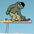 Downhill Snowboard 2 // Game