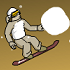 Downhill Snowboard 3 // Game